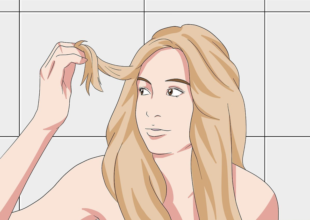 Желтизна после окрашивания в блонд
